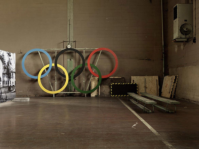 06_BERLIN Abstellraum im Olympischen Dorf / BERLIN storage room at Olympic Village