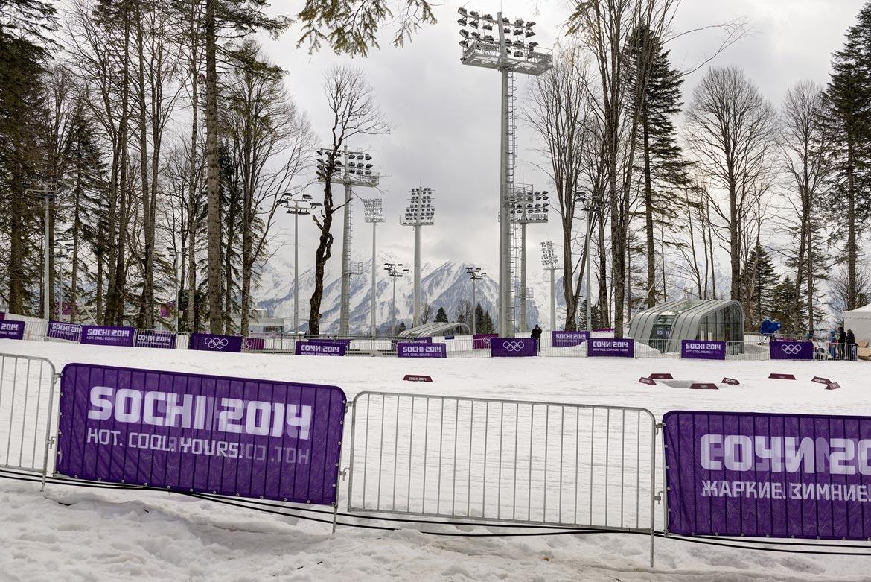 09_SOTSCHI Biathlon – und Langlauf – Anlage / SOCHI biathlon and cross-country skiing centre