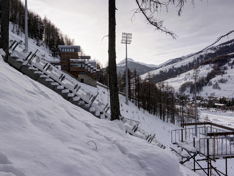 12_TURIN Skisprung Anlage / TURIN Ski jump